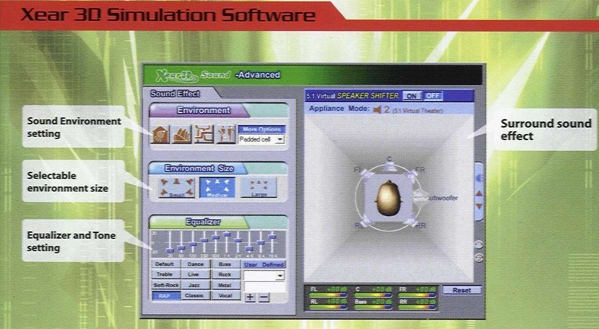 Xear 3D Simulation Software | Recording - Entertainment