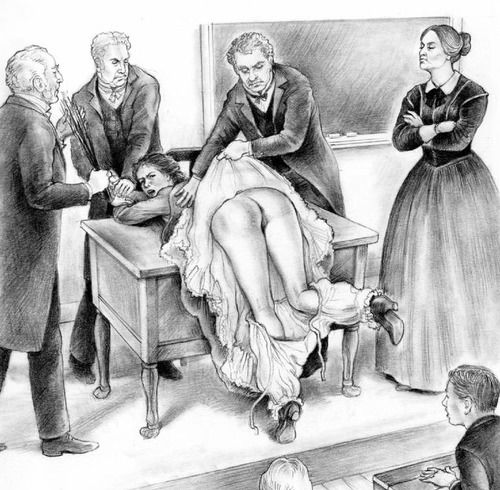 victorian-spanking-girls