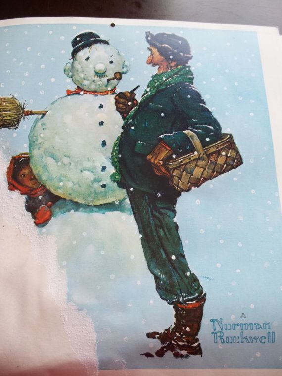 Calendar Norman Rockwell 1979 Calendar By Suzyqsvintageshop 2 25