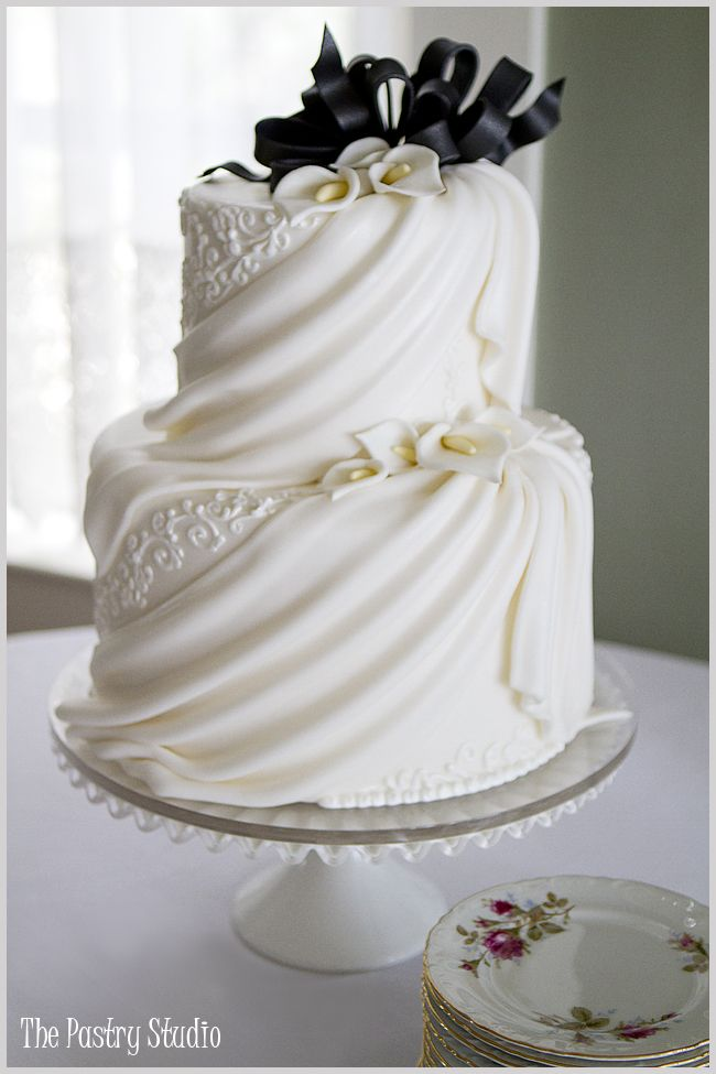 24+ Draped wedding cake pictures inspirations