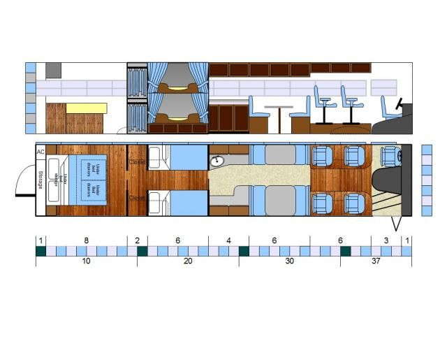 Skoolie Floor Plans