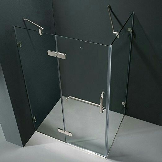 Vigo Monteray 766 62 Amazon Fixed Arm Support Ensures Wall Anchoring And Reinforces Wall Frameless Shower Enclosures Shower Stall Enclosures Shower Enclosure