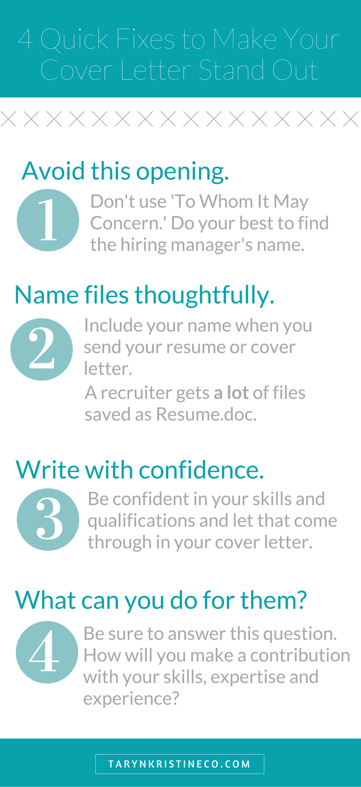 Four Quick Fixes To Make Your Cover Letter Stand Out Career Job