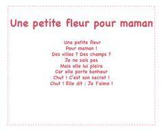 Une petite plante pour maman – Un poème pour maman avec Tête à modeler