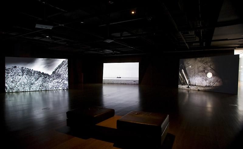 how to make video art installation