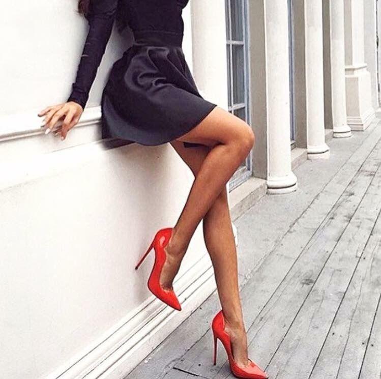Pin von James LaCroix auf Red Heels | Mode, Weiblich, Schuhe