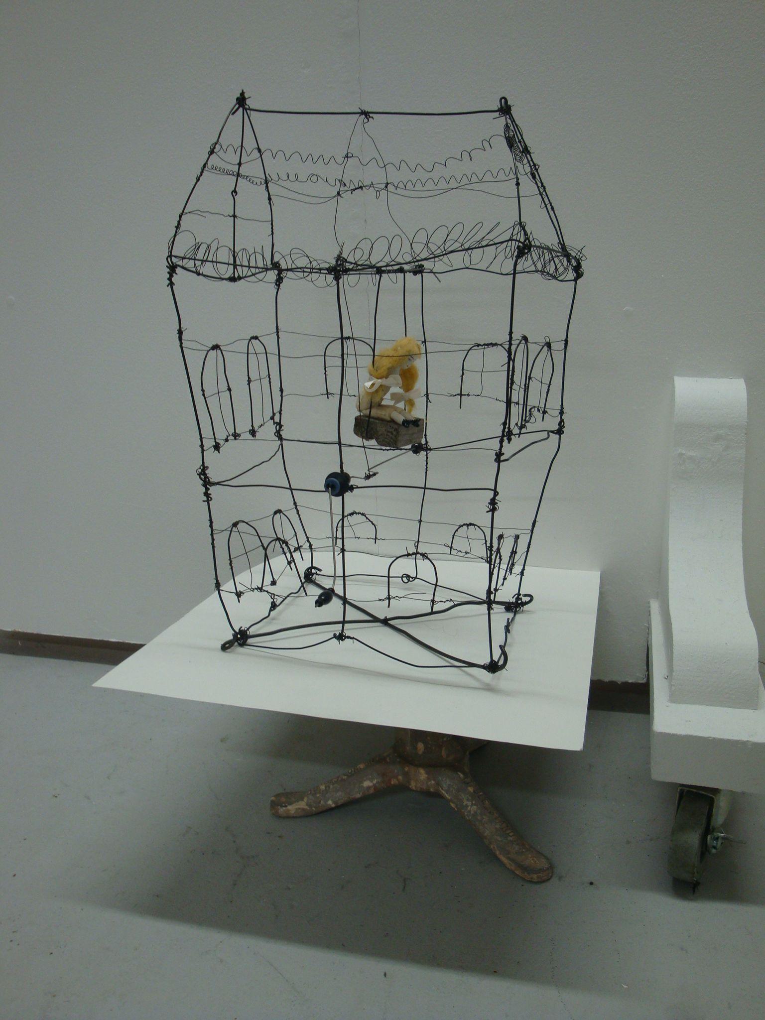 Wire house | Craftin | Pinterest