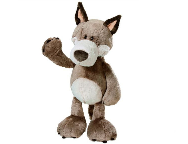 Plush toy stuffed doll nice cute forest animal Wolf Valentine birthday gift 1pc