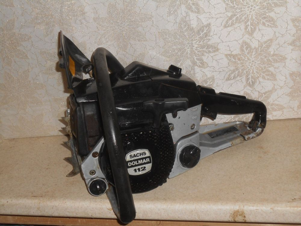 Sachs Dolmar 112 chainsaw vintage   chainsaw collections in