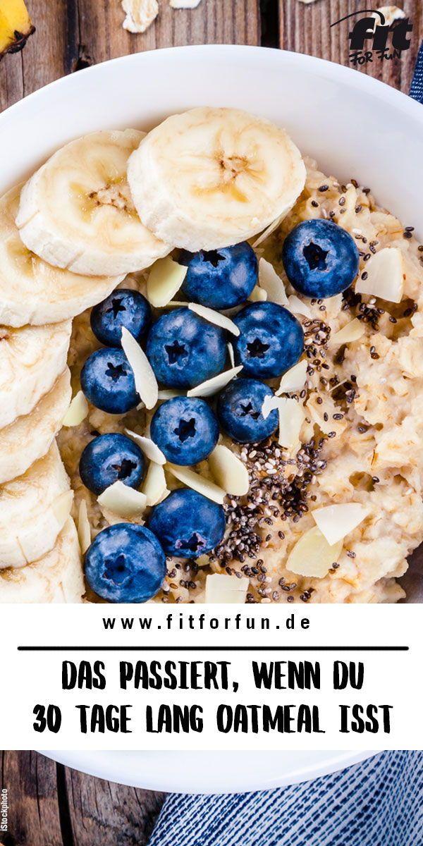 Das passiert, wenn du 30 Tage lang Oatmeal frühstückst – FIT FOR FUN