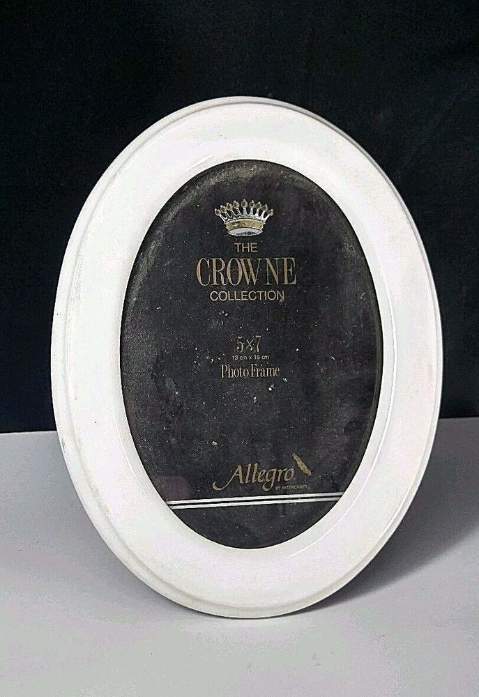 Intercraft 5x 7 Photo Picture Frame The Crow Ne Collection Oval