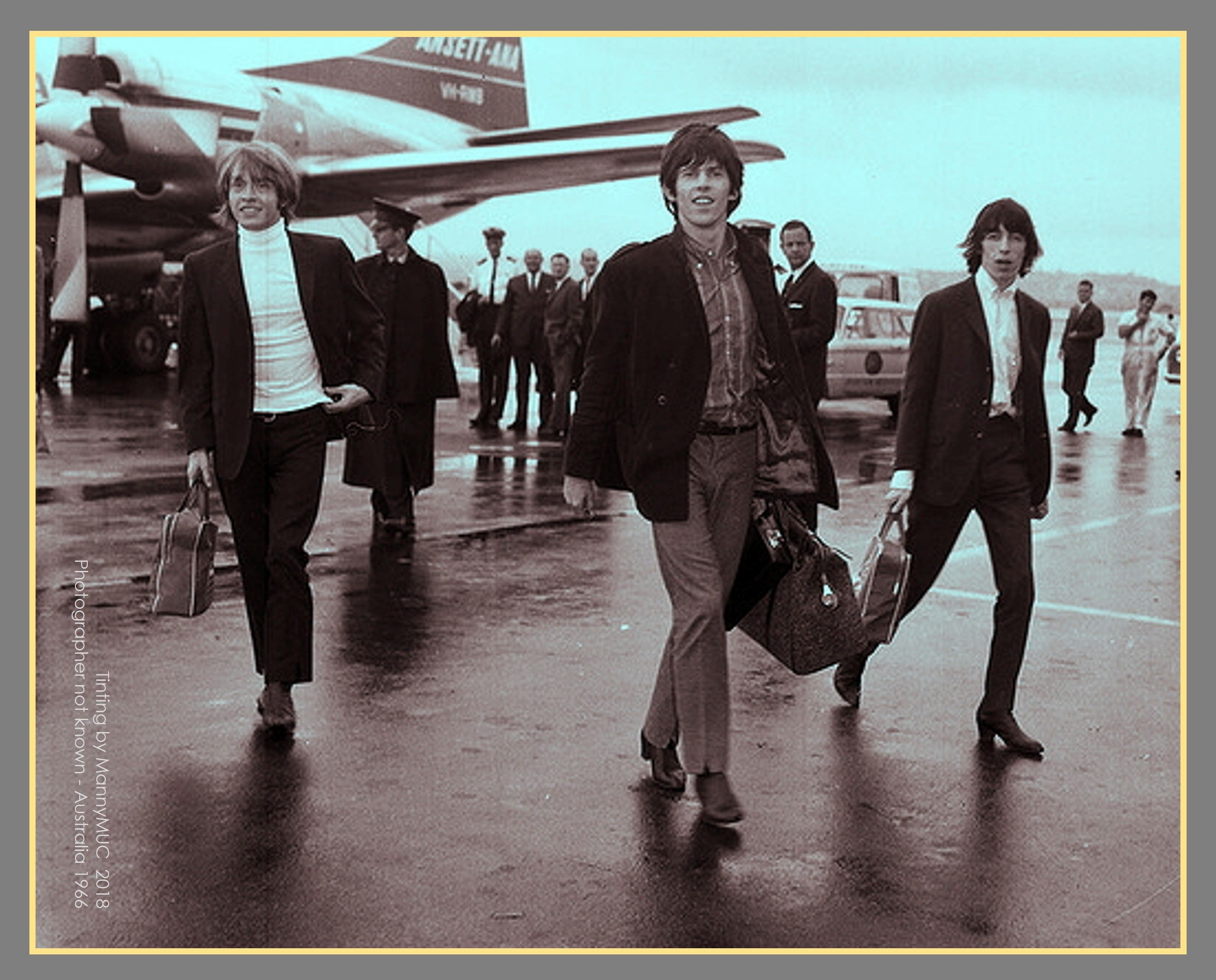 Relaxed In Rainy Australia February 1966 Brian Jones Keith Richards And Bill Wyman Of The Rolling Stones Keith Richards Rolling Stones Ringo Starr