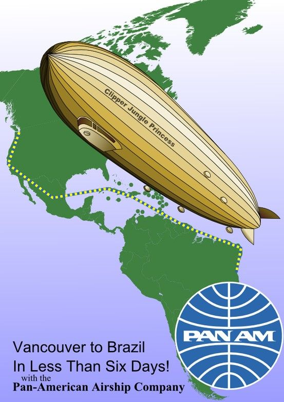 PanAm - Vancouver to Brazil in Less then Six Days ...