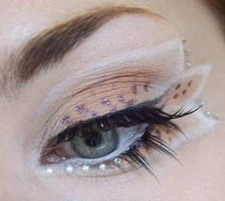 Fairy Eye Makeup - little ball eye makeup