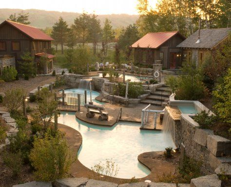 Scandinave Spa Blue Mountain If You Can T Get To Iceland This Will Do Ontario Travel Dream Vacations Places To Go