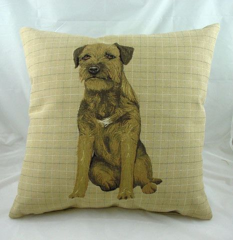 Border Terrier Cushion Expressions Hereford Www