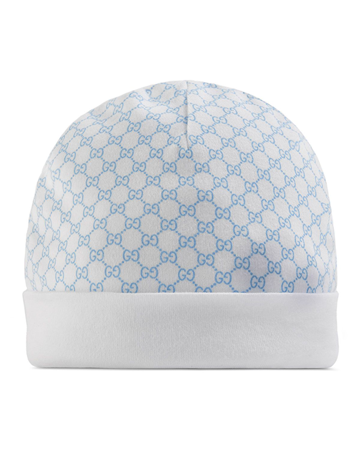 37f36efd792 Gucci Cotton GG Baby Hat