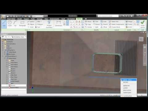 Advanced Sheet Metal Design With Autodesk Inventor 2010 Autodesk Inventor Metal Design Autocad Inventor