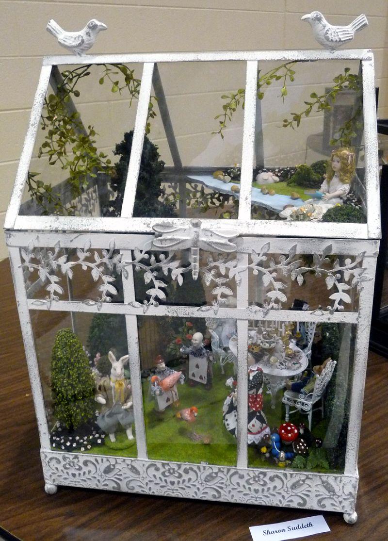 Gewachshaus In Wonderland Fee Puppen Und Miniatur