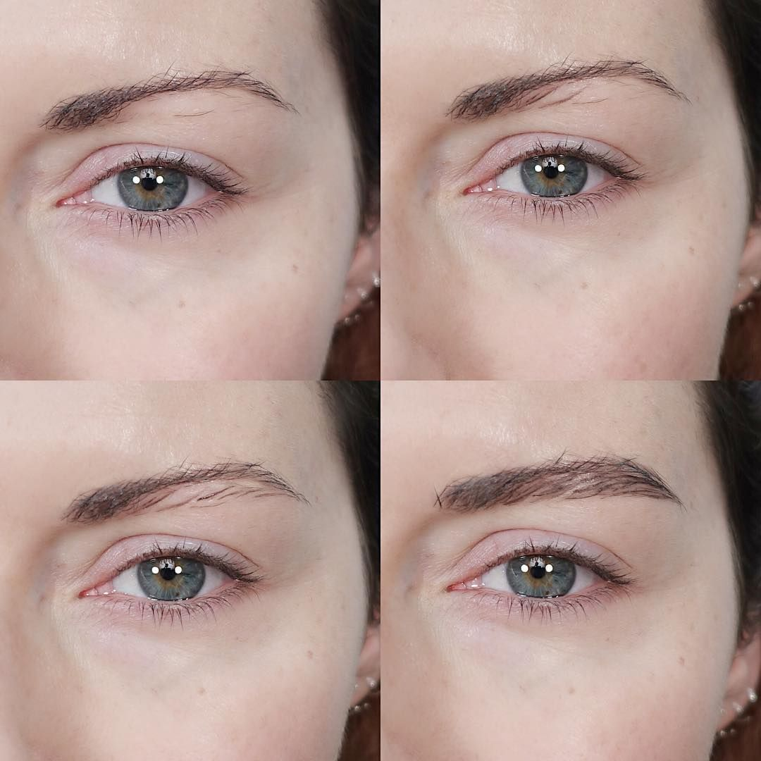 Watch This Makeup Artist Transform Skinny Eyebrows Into Full