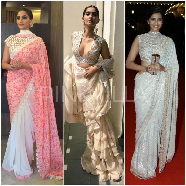 1d68626c678283 Pinkvilla Exclusive : 15 Times Sonam Kapoor slayed us with her Saree Looks  | PINKVILLA