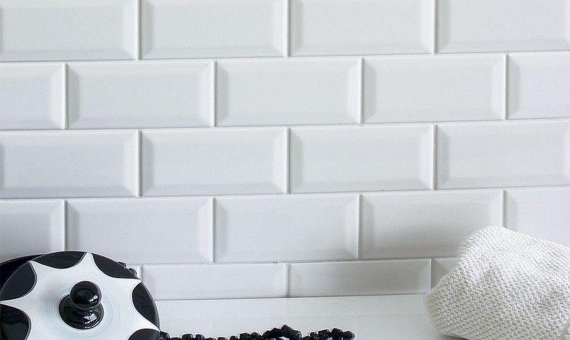 Rivestimento bianco Diamantato 75x15  Palm Spring  Piastrelle Bagno Pavimenti