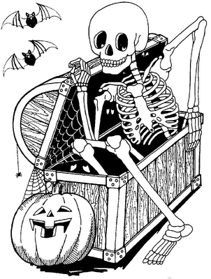 Halloween Witch Wizard Pumpkin Jack O Lantern Trick Or Treat Zombie Mummy Coloring PagesAdult