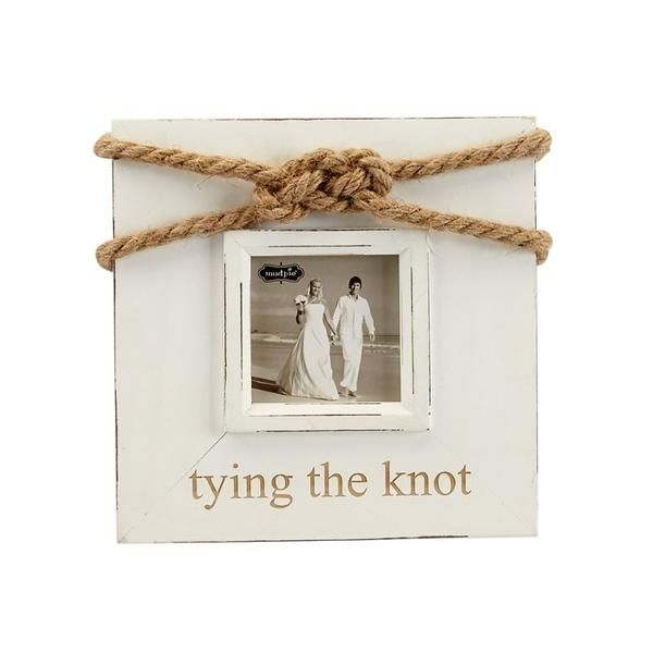 BIG SALE ****Mud Pie-Tying The Knot Picture Frame