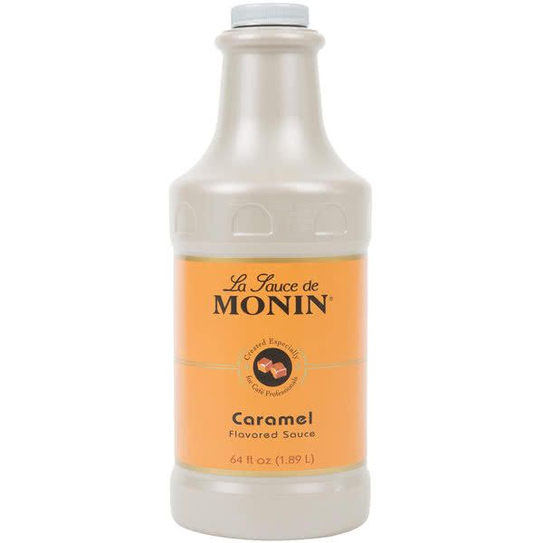 Photo of Monin 64 fl. oz. Caramel Flavoring Sauce