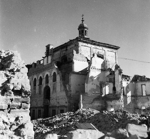 Ca' Granda, le tragiche conseguenze dei bombardamenti della notte tra il 13 e il 14 agosto del 1943 E | da Milàn l'era inscì