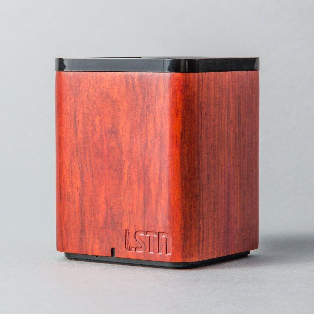 Cherry Wood Satellite Bluetooth Mini Speaker