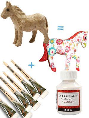 Decopatch- pakket Paard