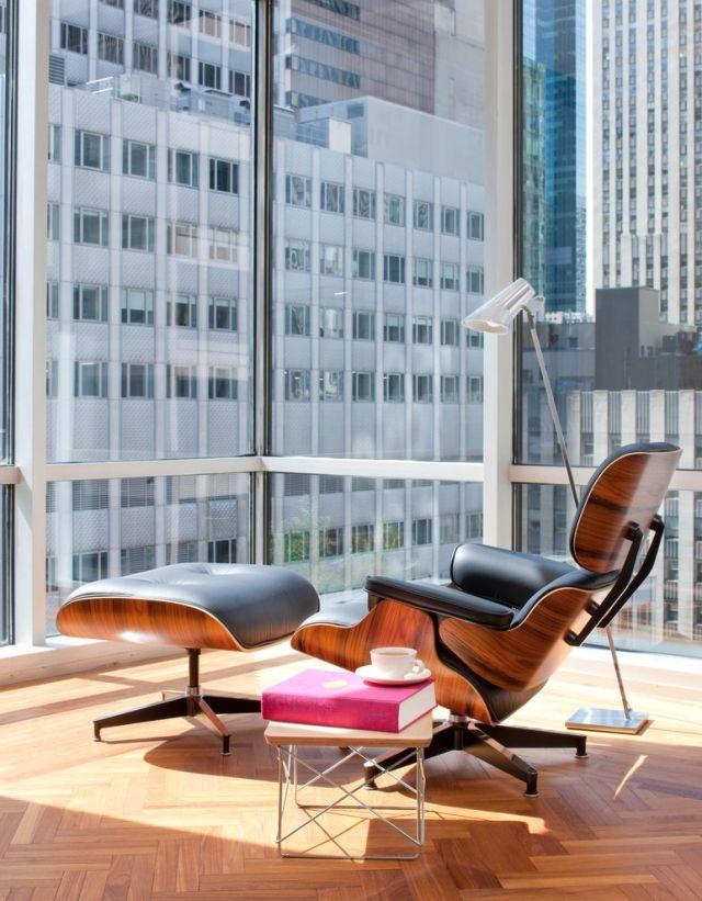 Bauhaus Lounge Sessel Design Klassiker Eames Vitra Mit Ottoman