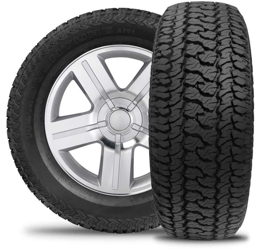 kumho road venture at51 lt285 70r17 tires truck parts pinterest tired. Black Bedroom Furniture Sets. Home Design Ideas