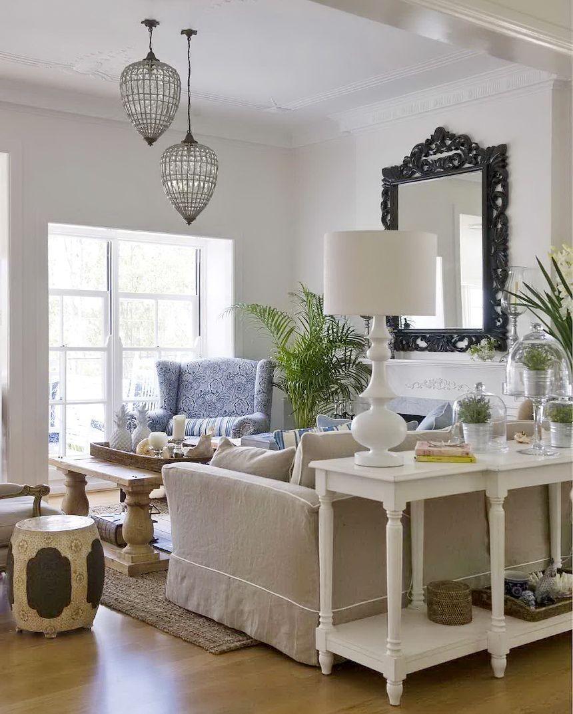 Casual Coastal Living Room Ideas: Casual Coastal Living Room
