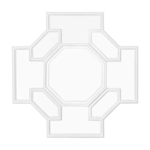 Зеркало Борромео Белый - Decode