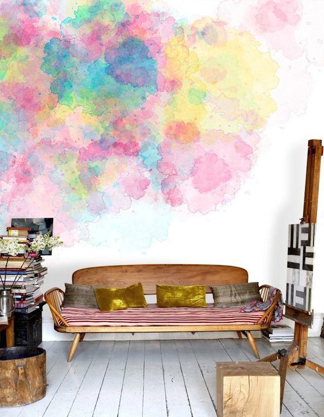 Tie Dye Wallpaper For Bedrooms Trending Decor Decor Decor