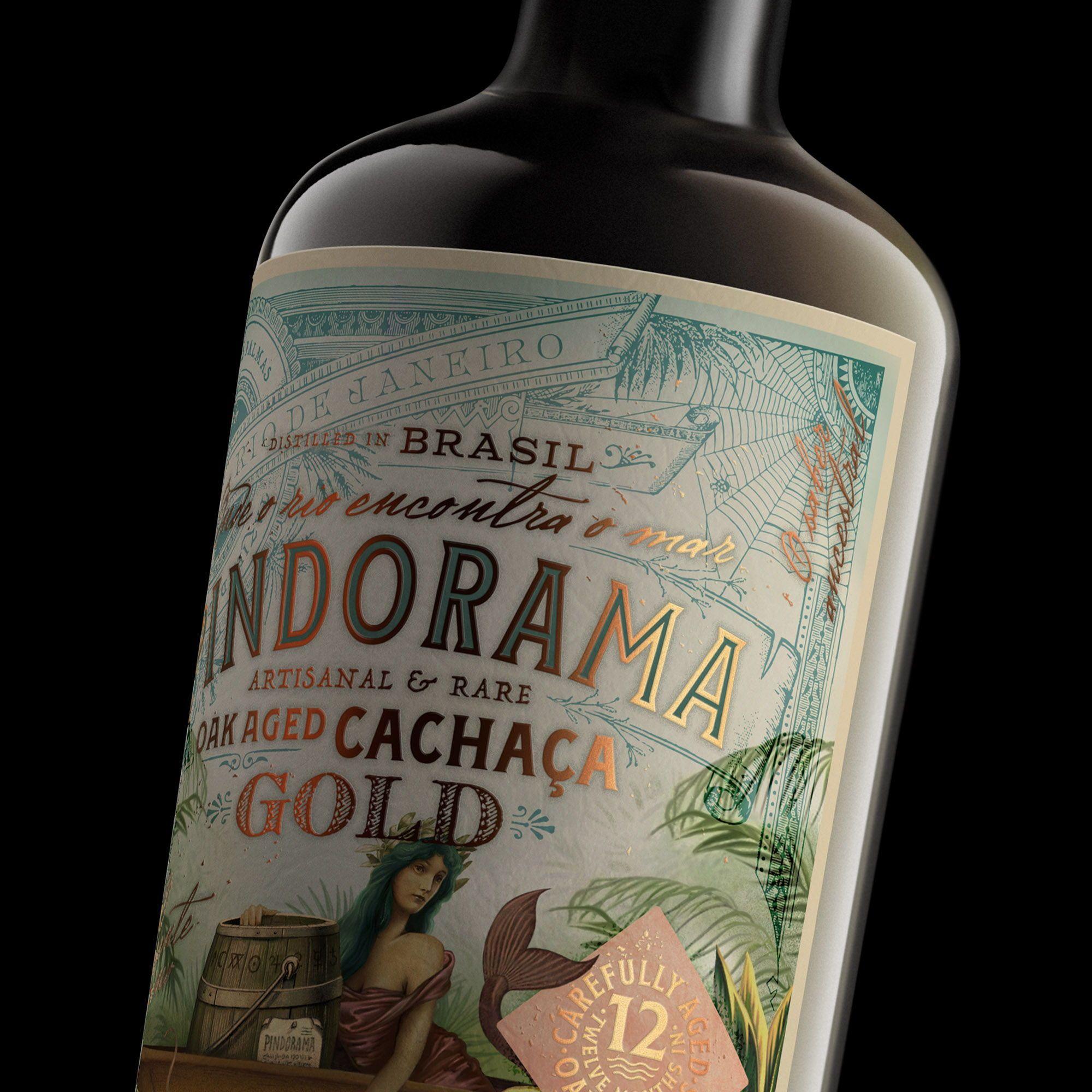 Pindorama Gold Features A Fantastical Illustrated