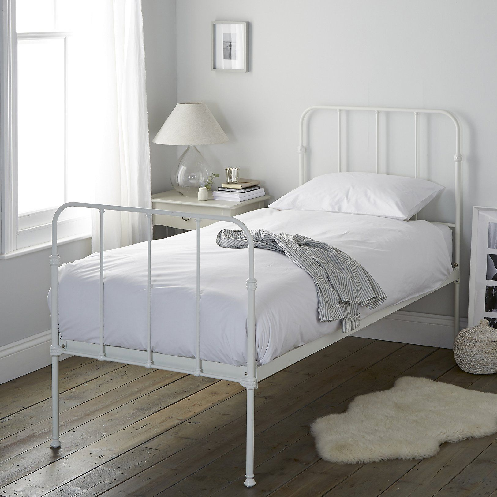 Stamford Single Bed Beds Furniture Home The White Company Uk