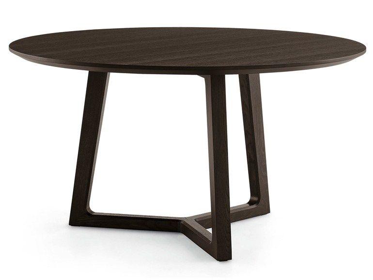 Runder Tisch Aus Holz Rund Pinterest