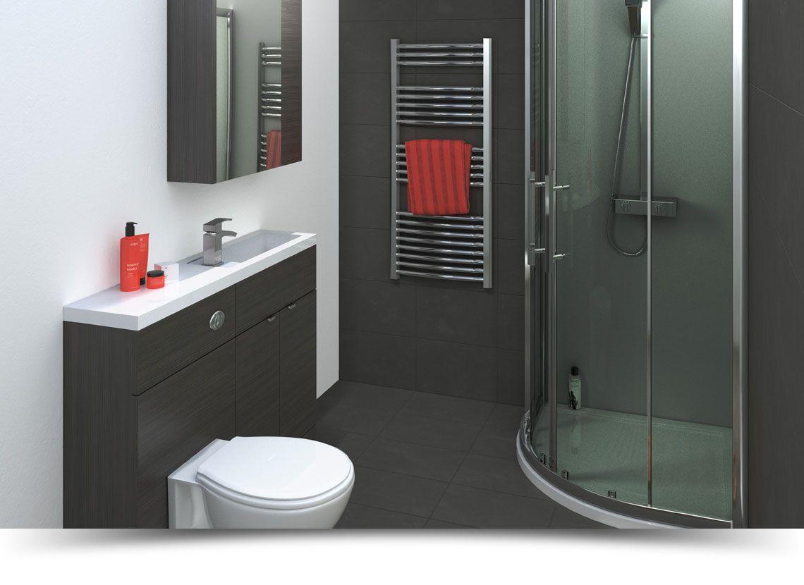 Balterley bathroom furniture - Medley Hacienda Black Balterley Bathroom Furniture