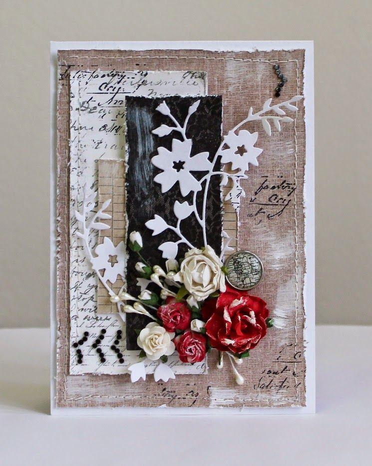 Card Making Paradise Part - 23: Flower Paradise - ????????? ???: Cardmaking