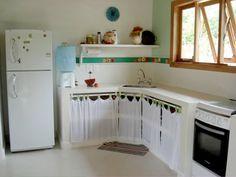 Pias De Cozinha Cozinhas De Alvenaria Armario Cozinha E Cozinha