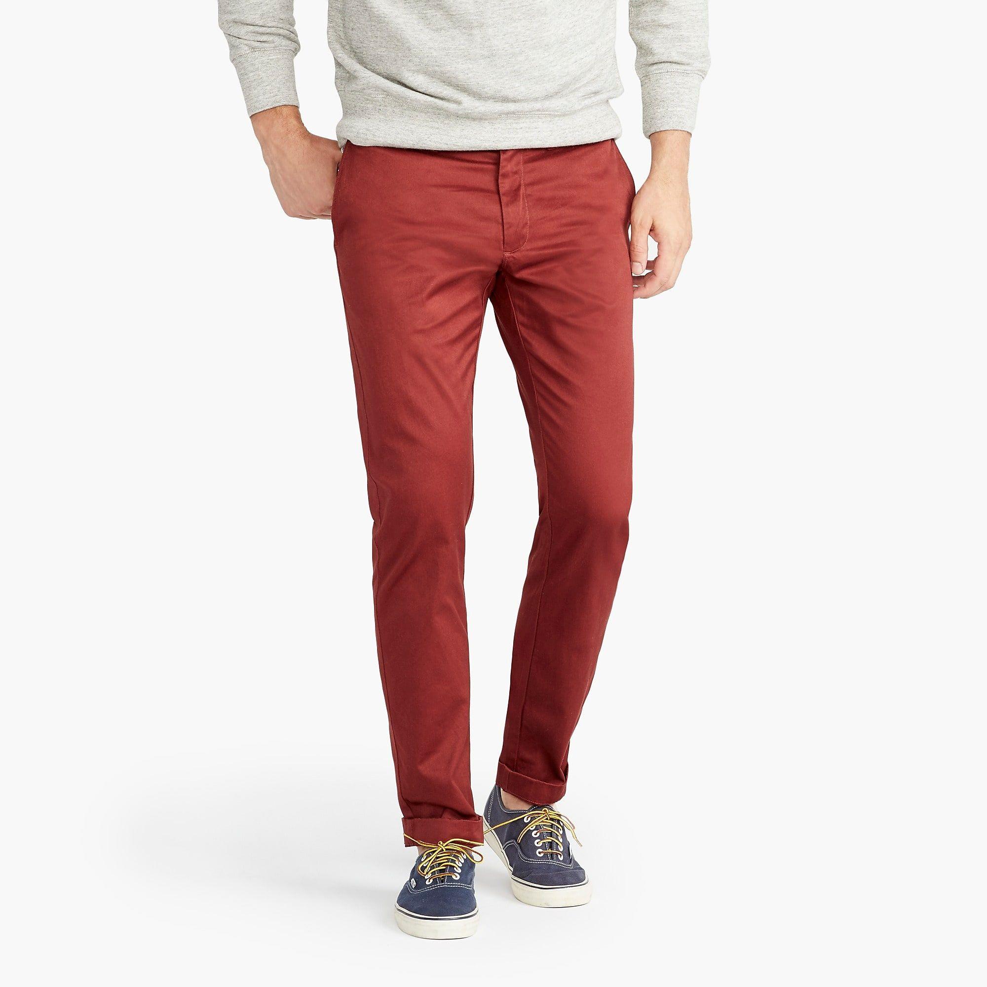 484 slimfit pant in stretch chino slim fit pants mens