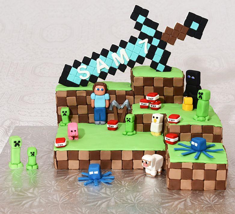 Minecraft comment faire un gateau au chocolat