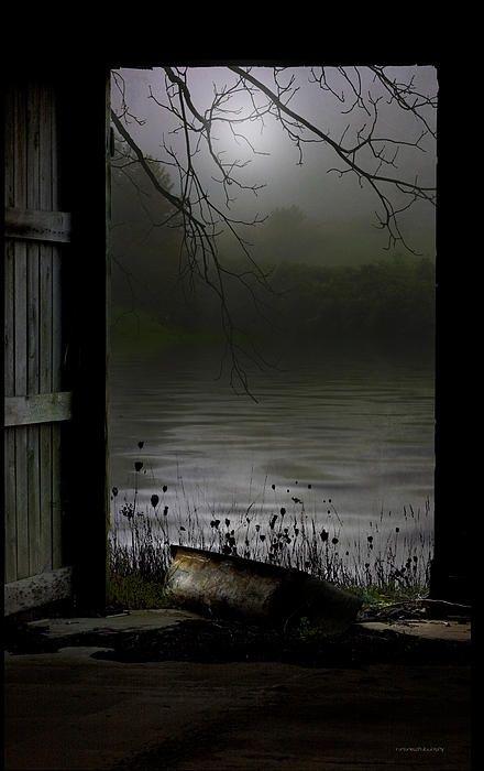 Fine...so this is a photograph.  Still evokes mood.  River Moods Photograph -Ron Jones