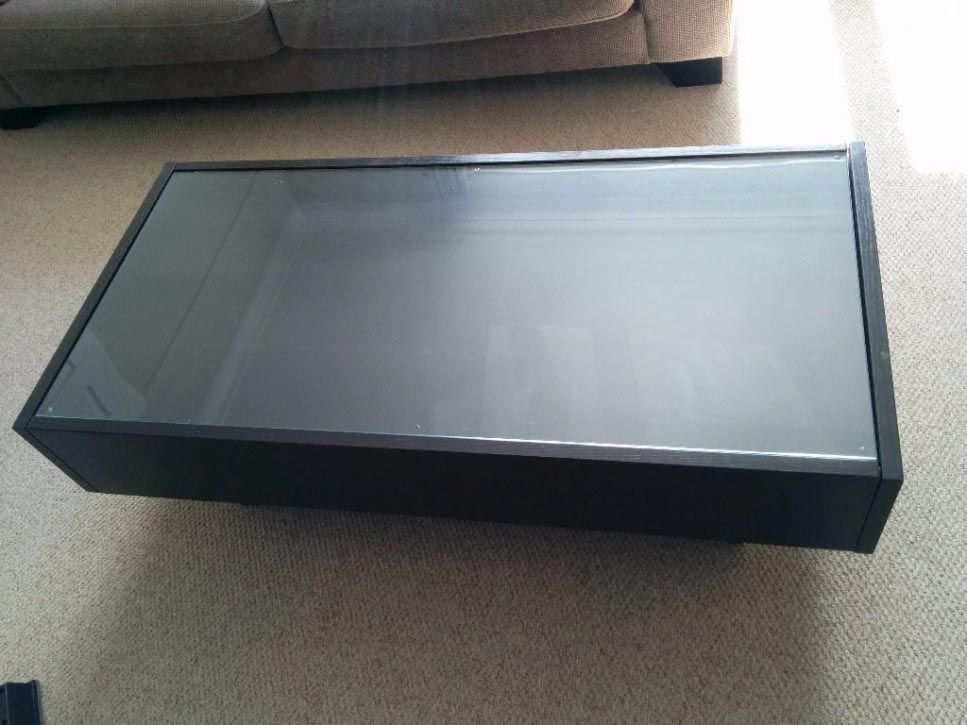 Display Coffee Table Will Be A Perfect Addition Of Your Decor : Coffee Table  Display Case Glass Top IKEA. Tables With Drawers