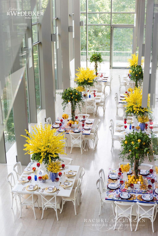 Lemon Inspired Wedding At Royal Conservatory Of Music