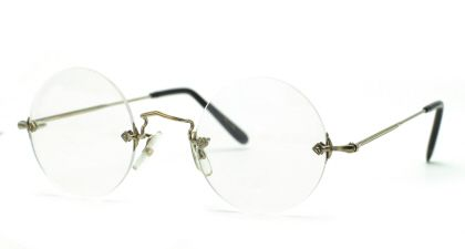 Savile Row 18Kt Diaflex Round (Steve Jobs) Eyeglasses