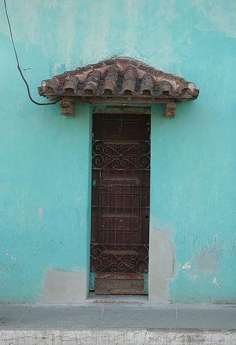 Cuban Door 3 by karmark, via Flickr